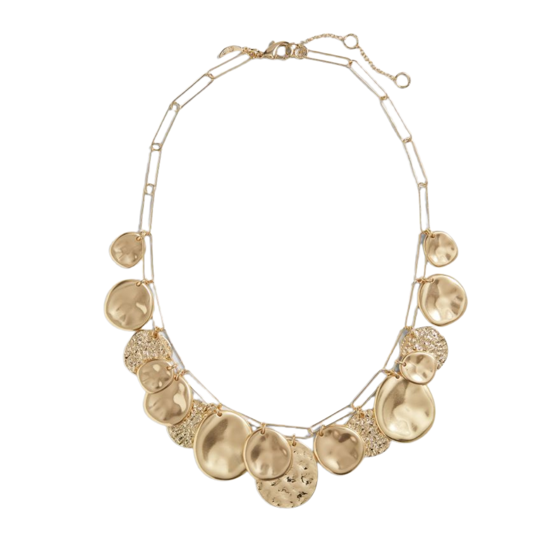 Gold Statement Necklace from Banana Republic