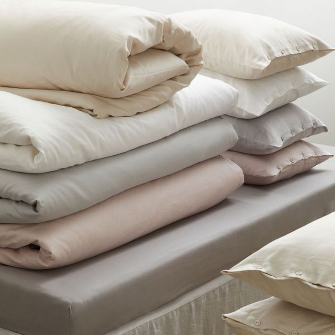 Pastel bedsheets from H&M