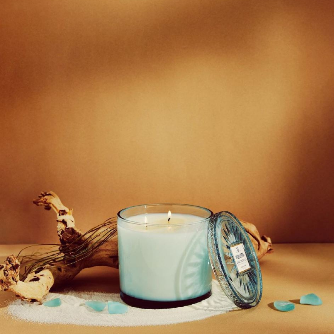 Blue candle from Voluspa