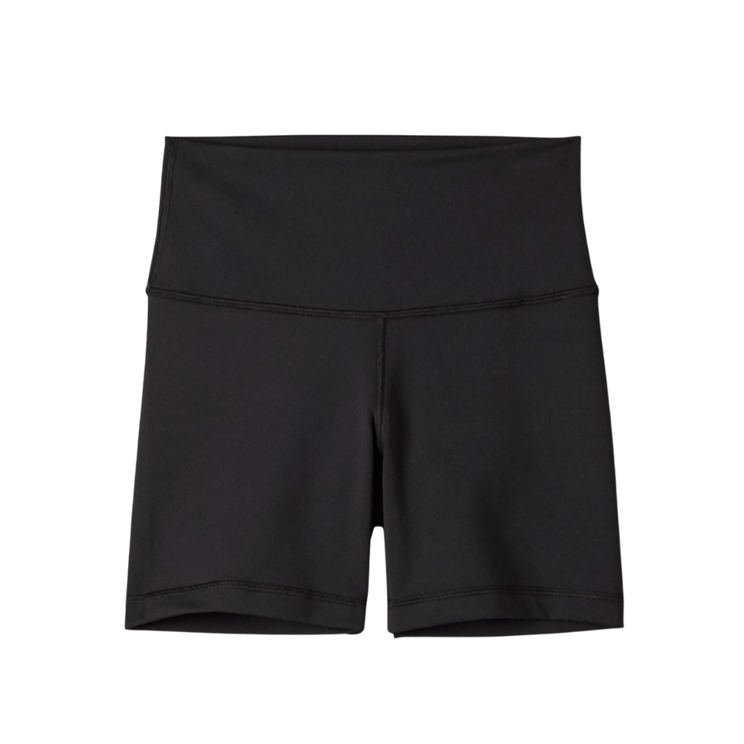 Black biker shorts from Aritzia