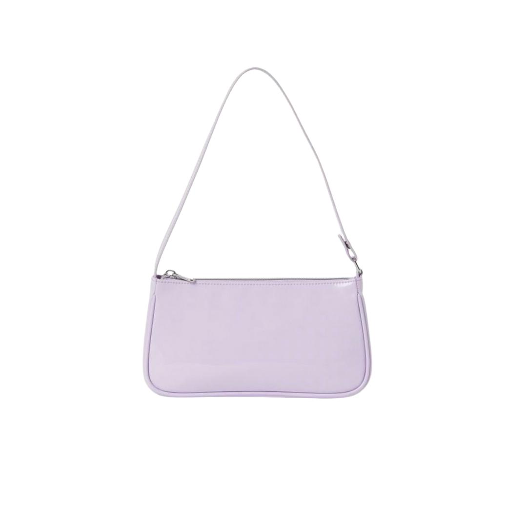 Purple pastel handbag from H&M