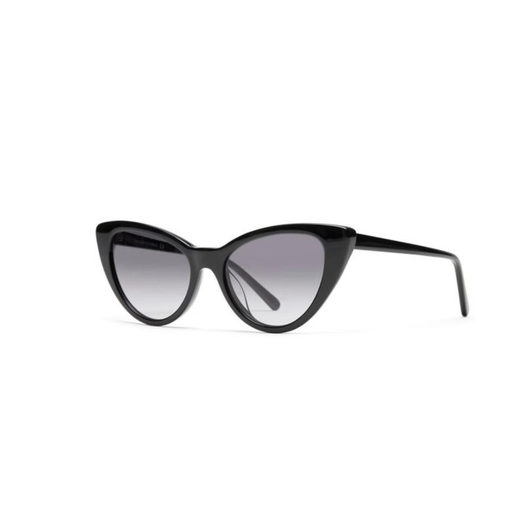 Black cat eye sunglasses from Banana Republic.