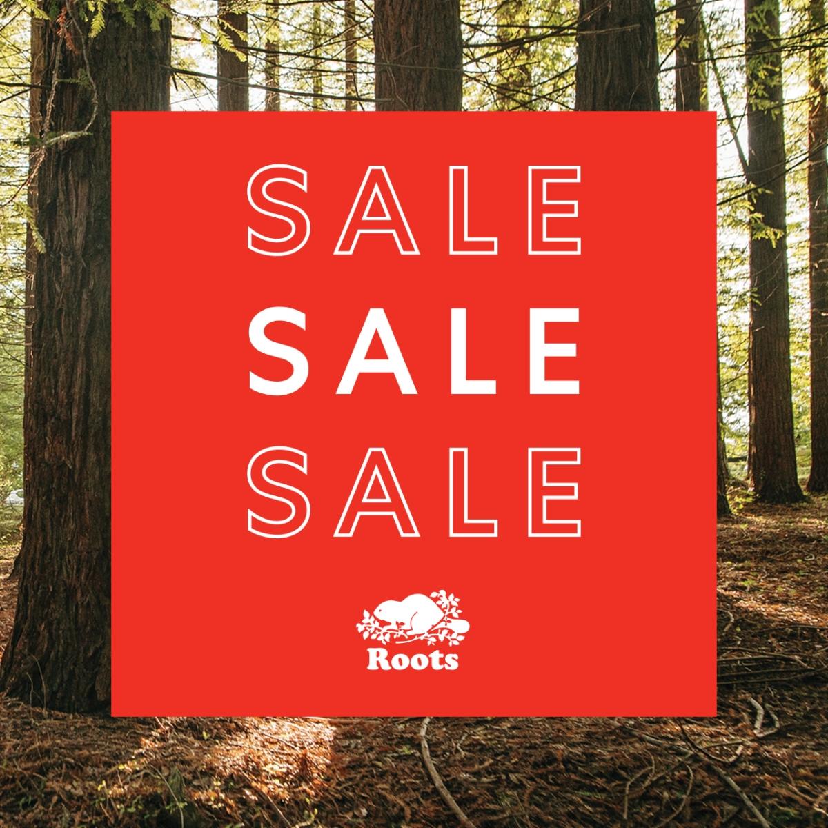 Roots sale