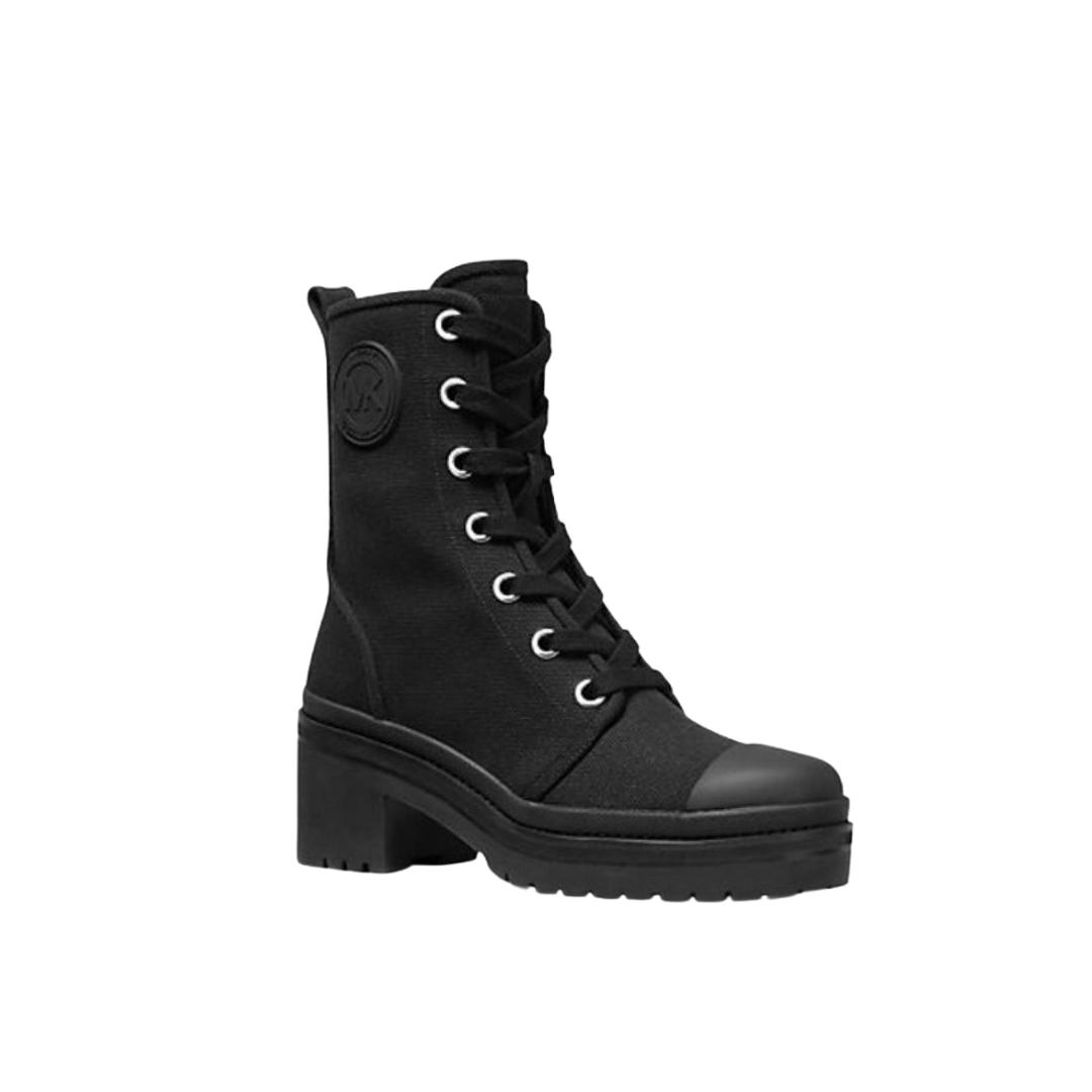 Combat black boots from Michael Kors