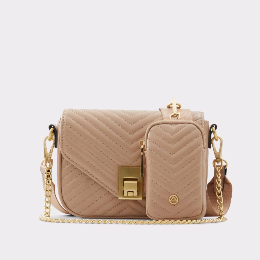 Cream beige bag from Aldo