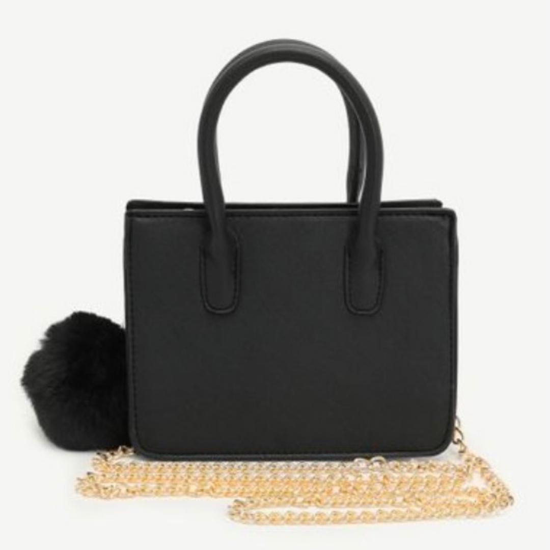 Black tote bag from Ardene
