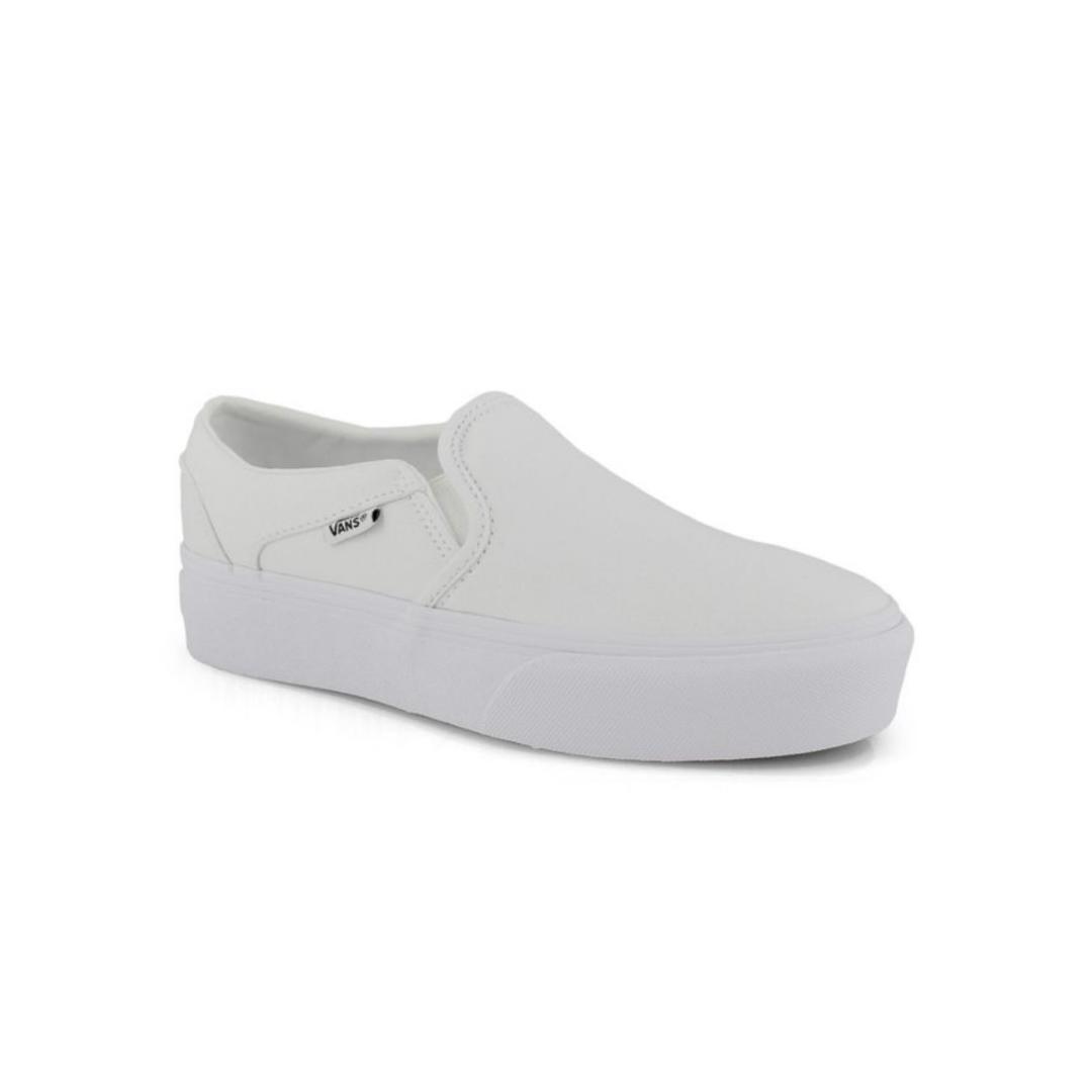 Basic white slip-on sneaker from SoftMoc