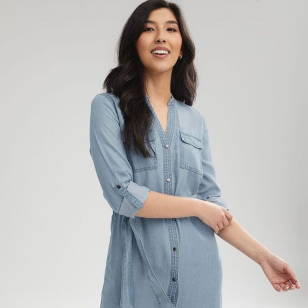 Jean dress from RW&CO.
