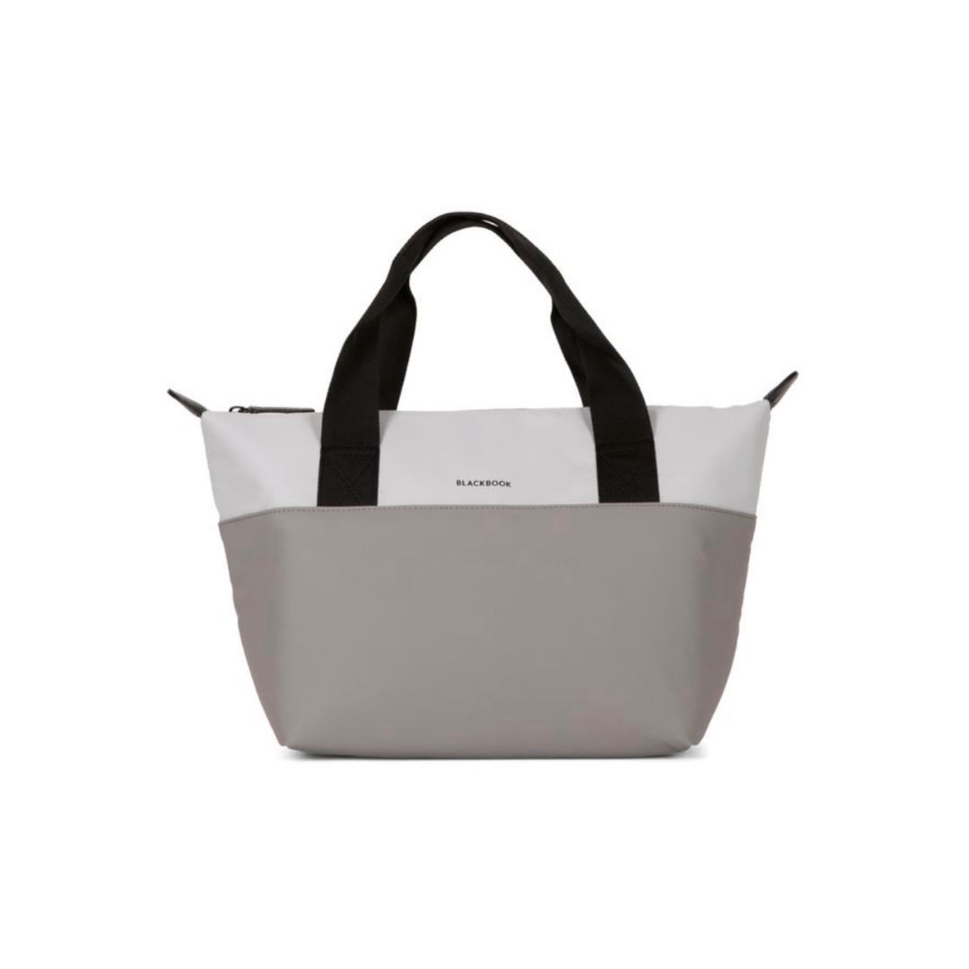 Grey Bentley Lunchbag with Black Handle
