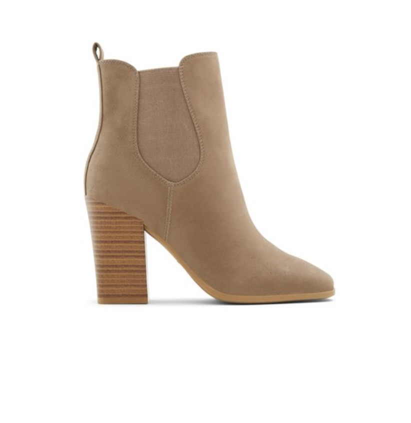 Beige bootie with heel from Call It Spring