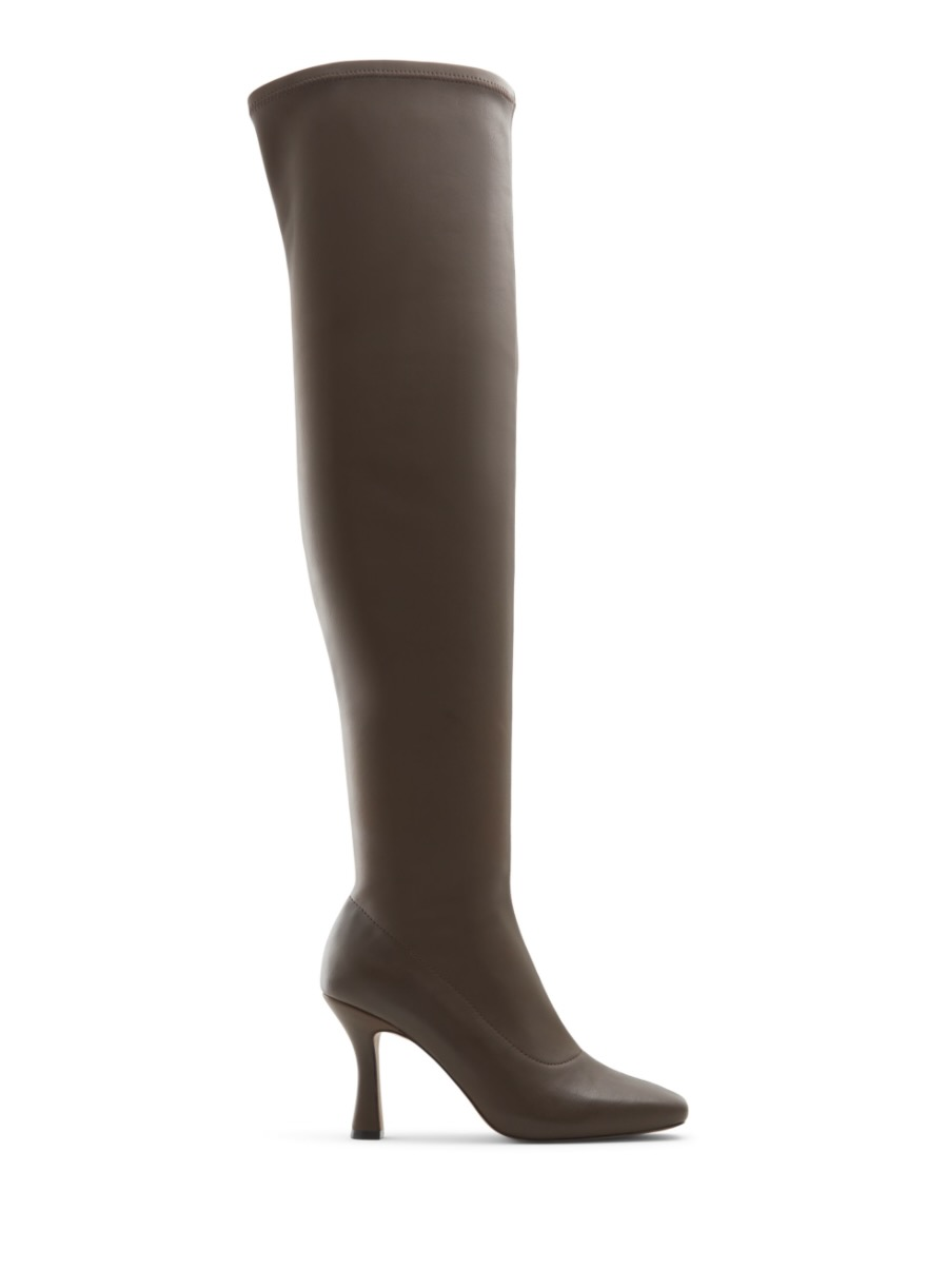 Brown leather knee high boots from Call It Spring