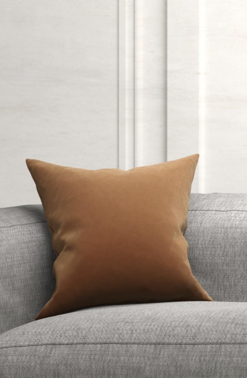 Velvet cushion from H&M