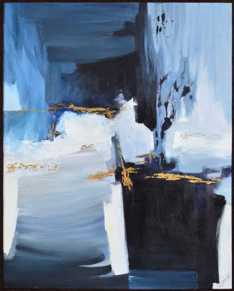 Orior rectangular painting from Hudson's Bay