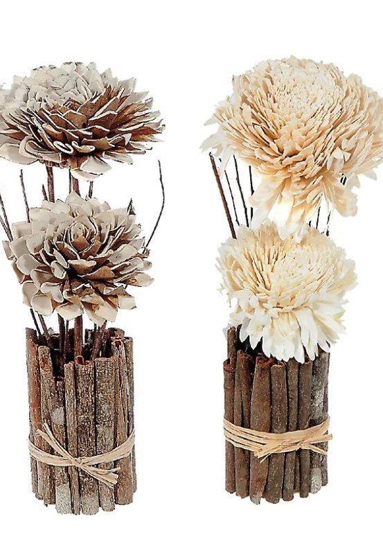 Dried shola arrangement from Hudson's Bay