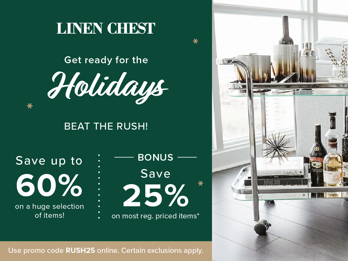 linen chest holiday