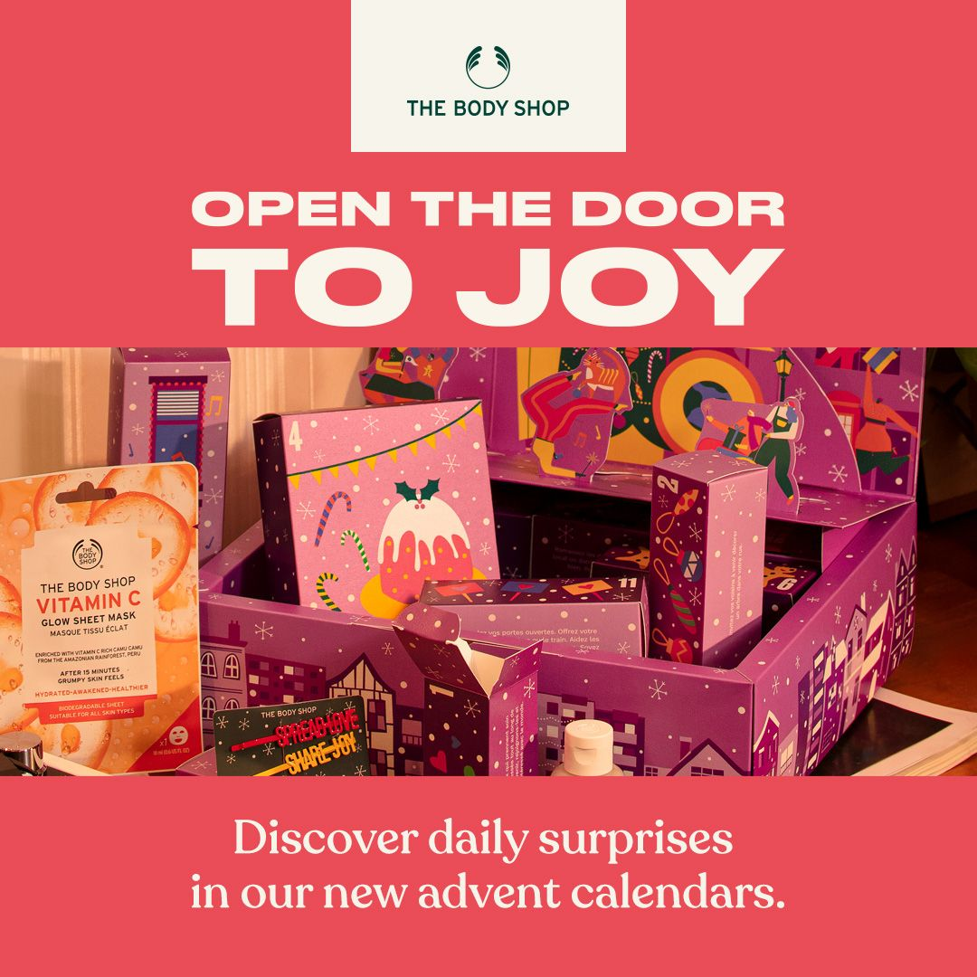 open the door to joy the body shop