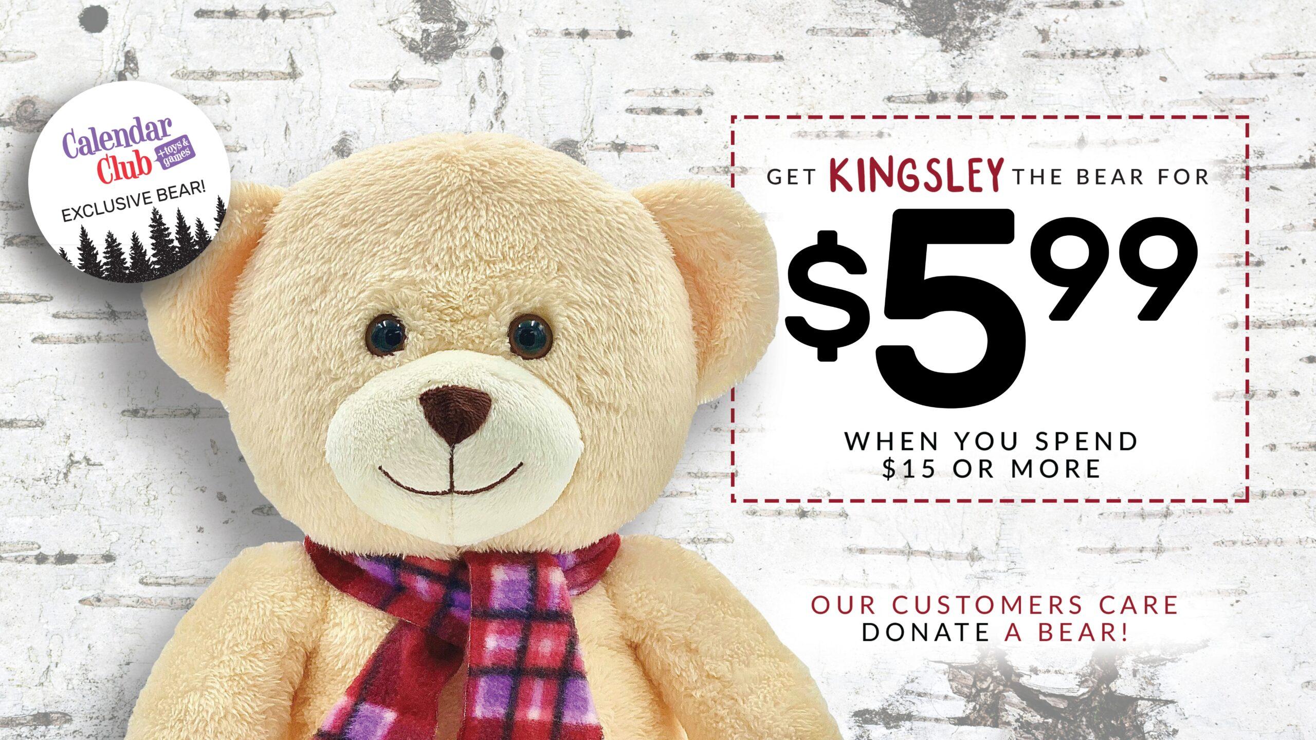 kingsley the bear